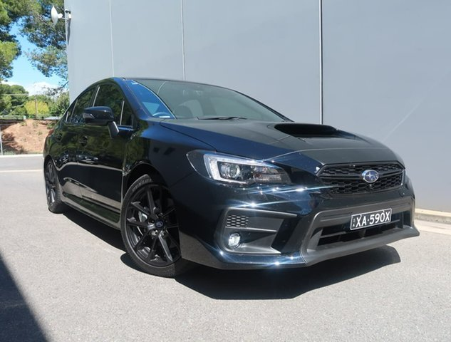 Used Subaru WRX V1 MY20 Premium Lineartronic AWD Reynella, 2020 Subaru WRX V1 MY20 Premium Lineartronic AWD Black 8 Speed Constant Variable Sedan