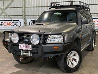 2000 Nissan Patrol GU II ST Silver 5 Speed Manual Wagon.