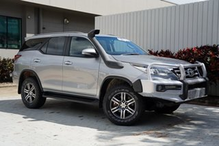 2016 Toyota Fortuner GUN156R GXL Silver 6 Speed Automatic Wagon.