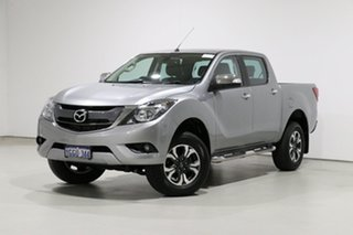 2017 Mazda BT-50 MY17 Update GT (4x4) Silver 6 Speed Automatic Dual Cab Utility.