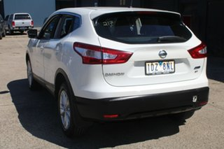 2014 Nissan Qashqai J11 ST White Continuous Variable Wagon