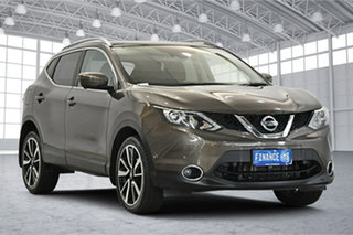 2015 Nissan Qashqai J11 TI Bronze 1 Speed Constant Variable Wagon.