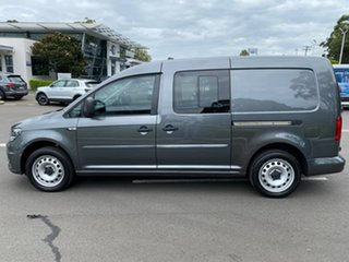 2019 Volkswagen Caddy 2KN MY20 TSI220 Crewvan Maxi DSG Grey 7 Speed Sports Automatic Dual Clutch Van