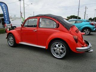 1976 Volkswagen Beetle 1600 L Orange 4 Speed Manual Sedan.