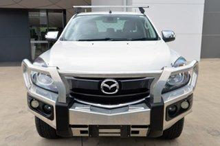 2015 Mazda BT-50 UR0YF1 GT White 6 Speed Sports Automatic Utility