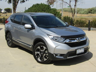 2018 Honda CR-V RW MY18 VTi-S 4WD Lunar Silver 1 Speed Constant Variable Wagon.
