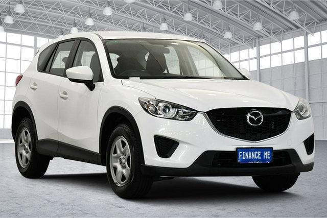Used Mazda CX-5 KE1071 MY14 Maxx SKYACTIV-Drive Victoria Park, 2014 Mazda CX-5 KE1071 MY14 Maxx SKYACTIV-Drive White 6 Speed Sports Automatic Wagon