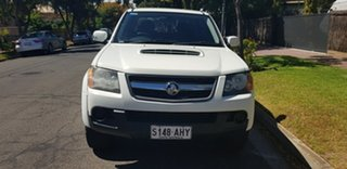 2010 Holden Colorado RC MY11 LX (4x4) White 4 Speed Automatic Crew Cab Pickup
