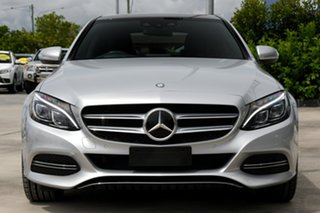 2014 Mercedes-Benz C-Class W205 C250 BlueTEC 7G-Tronic + Silver 7 Speed Sports Automatic Sedan