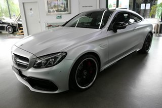 2017 Mercedes-Benz C-Class C205 808MY C63 AMG SPEEDSHIFT MCT S Silver 7 Speed Sports Automatic Coupe