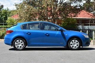 2012 Holden Cruze JH Series II MY12 CD Blue 6 Speed Sports Automatic Hatchback