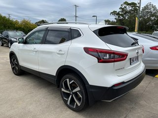 2020 Nissan Qashqai J11 Series 3 MY20 Ti X-tronic White 1 Speed Constant Variable Wagon
