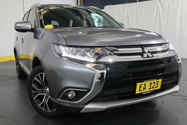 Used Mitsubishi Outlander ZK MY16 LS 4WD Castle Hill, 2016 Mitsubishi Outlander ZK MY16 LS 4WD Silver 6 Speed Constant Variable Wagon