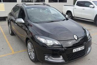 2013 Renault Megane III K95 MY13 GT-Line Sportwagon Black 6 Speed Constant Variable Wagon.