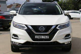 2018 Nissan Qashqai J11 Series 2 N-TEC X-tronic White 1 Speed Constant Variable Wagon