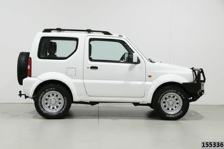 2012 Suzuki Jimny Sierra (4x4) White 5 Speed Manual 4x4 Wagon
