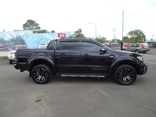 2019 Ford Ranger PX MkIII 2019.00MY Wildtrak Shadow Black 6 Speed Automatic Double Cab Pick Up