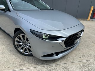 2020 Mazda 3 BP2SLA G25 SKYACTIV-Drive Astina Sonic Silver 6 Speed Sports Automatic Sedan.