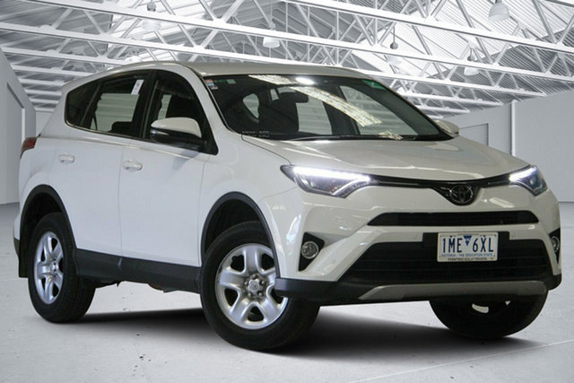 Used Toyota RAV4 ZSA42R MY17 GX (2WD) Altona North, 2017 Toyota RAV4 ZSA42R MY17 GX (2WD) Glacier White Continuous Variable Wagon