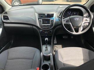 2018 Hyundai Accent RB6 MY19 Sport White 6 Speed Sports Automatic Sedan