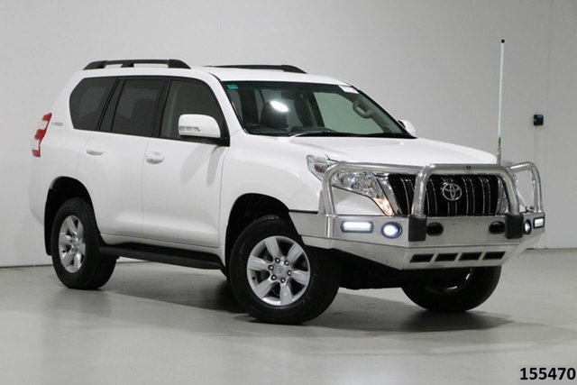 Used Toyota Landcruiser Prado GDJ150R MY16 GXL (4x4) Bentley, 2017 Toyota Landcruiser Prado GDJ150R MY16 GXL (4x4) White 6 Speed Automatic Wagon