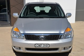 2013 Kia Grand Carnival VQ MY13 S Silver 6 Speed Sports Automatic Wagon