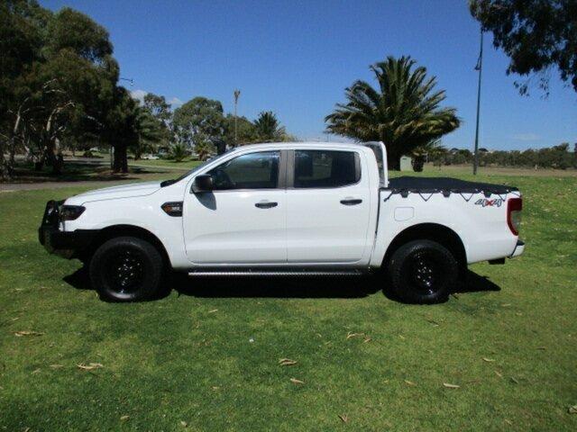 Used Ford Ranger PX MkII 2018.00MY XL Murray Bridge, 2017 Ford Ranger PX MkII 2018.00MY XL White 6 Speed Sports Automatic Utility