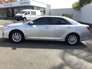2014 Toyota Camry AVV50R Hybrid H Silver 1 Speed Constant Variable Sedan Hybrid