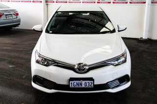2017 Toyota Corolla ZRE182R MY17 Ascent Glacier White 7 Speed CVT Auto Sequential Hatchback.