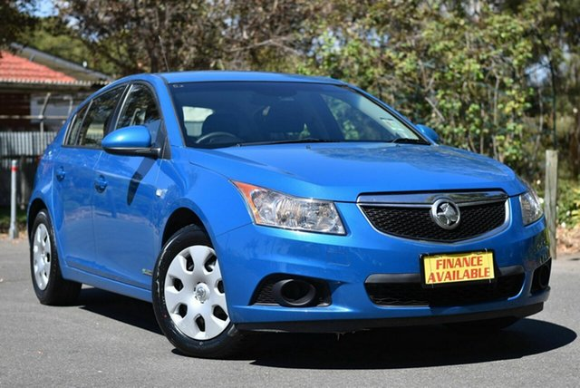 Used Holden Cruze JH Series II MY12 CD Melrose Park, 2012 Holden Cruze JH Series II MY12 CD Blue 6 Speed Sports Automatic Hatchback