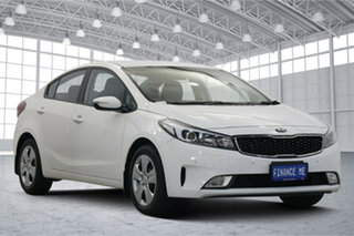 2017 Kia Cerato YD MY17 S Clear White 6 Speed Sports Automatic Sedan.