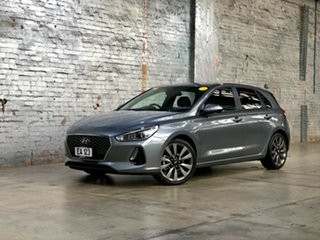 2017 Hyundai i30 PD MY18 SR Grey 6 Speed Manual Hatchback.