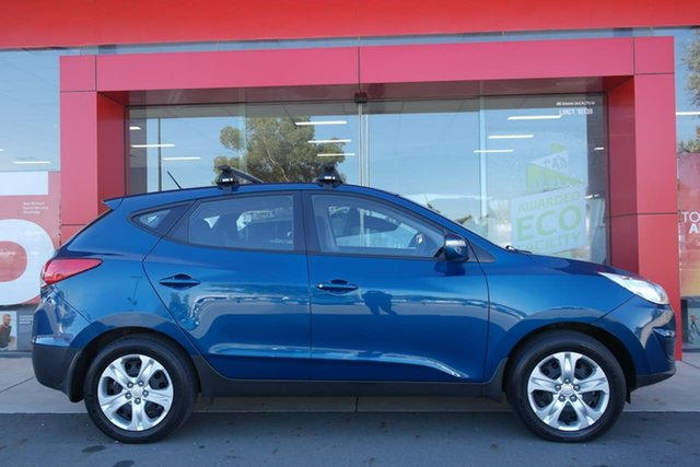 Used Hyundai ix35 LM2 Active Swan Hill, 2012 Hyundai ix35 LM2 Active Blue 6 Speed Sports Automatic Wagon