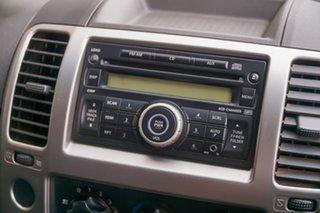 2011 Nissan Navara D40 ST White 6 Speed Manual Utility