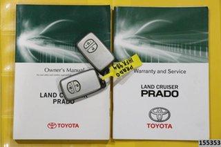 2014 Toyota Landcruiser Prado KDJ150R MY14 VX (4x4) White 5 Speed Sequential Auto Wagon