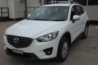 2016 Mazda CX-5 KE1032 Maxx SKYACTIV-Drive AWD Sport White 6 Speed Sports Automatic Wagon.