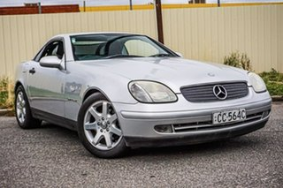 1998 Mercedes-Benz SLK-Class R170 SLK230 Kompressor Silver Automatic Convertible.
