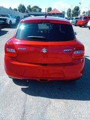 2018 Suzuki Swift AZ GLX Turbo Red 6 Speed Sports Automatic Hatchback.