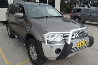 2015 Mitsubishi Challenger PC (KH) MY14 Grey 5 Speed Sports Automatic Wagon.