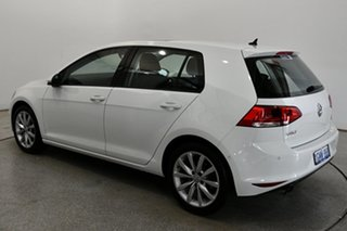 2017 Volkswagen Golf VII MY17 110TSI DSG Highline Pure White 7 Speed Sports Automatic Dual Clutch