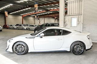 2015 Toyota 86 ZN6 Blackline Edition White 6 Speed Sports Automatic Coupe