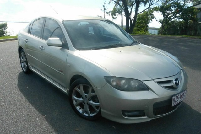 Used Mazda 3 BK1032 SP23 Gladstone, 2007 Mazda 3 BK1032 SP23 Gold 5 Speed Sports Automatic Sedan