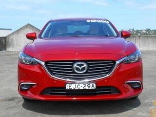 2015 Mazda 6 GJ1032 Touring SKYACTIV-Drive Red 6 Speed Sports Automatic Sedan