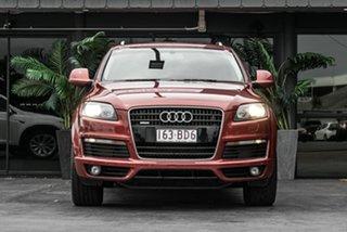 2009 Audi Q7 MY09 TDI Quattro Red 6 Speed Sports Automatic Wagon.