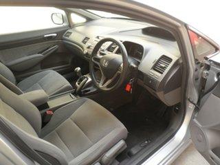 2009 Honda Civic 8th Gen MY09 VTi Silver Metallic 5 Speed Manual Sedan