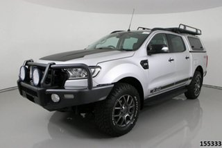 2017 Ford Ranger PX MkII MY17 FX4 Special Edition Silver 6 Speed Automatic Double Cab Pick Up.