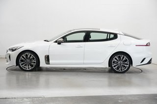 2017 Kia Stinger CK MY18 GT-Line Fastback White 8 Speed Sports Automatic Sedan.