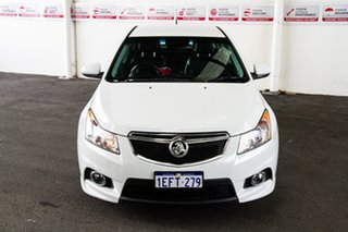 2013 Holden Cruze JH MY14 SRi V White 6 Speed Automatic Sedan.