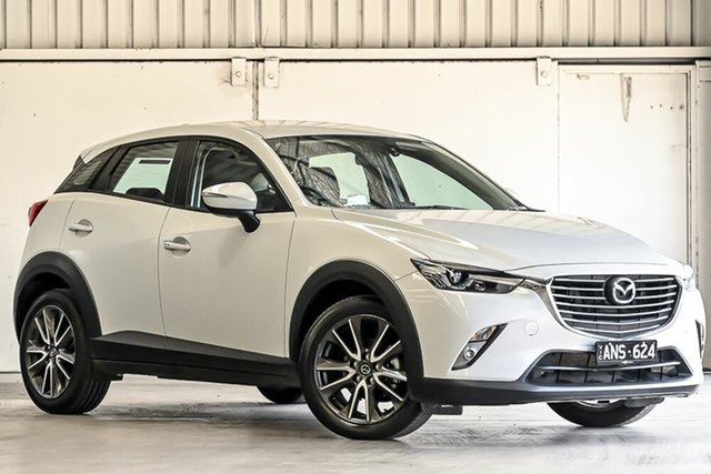 Used Mazda CX-3 DK2W7A sTouring SKYACTIV-Drive Laverton North, 2017 Mazda CX-3 DK2W7A sTouring SKYACTIV-Drive Grey 6 Speed Sports Automatic Wagon