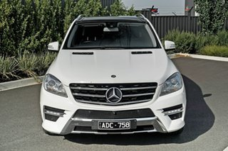 2014 Mercedes-Benz M-Class W166 ML250 BlueTEC 7G-Tronic + White 7 Speed Sports Automatic Wagon